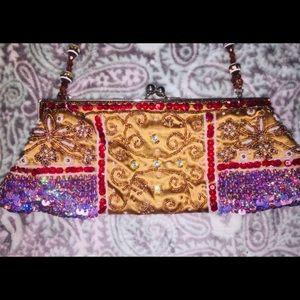 Chateau Beaded Handbag